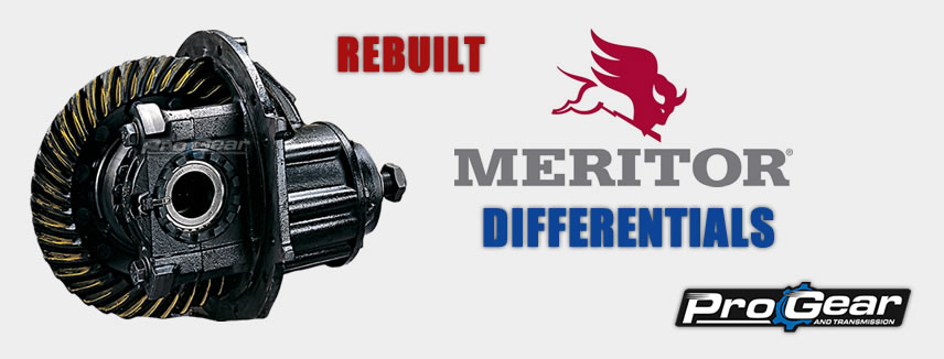 Rebuilt Meritor Differentials Sold At Discounted Prices