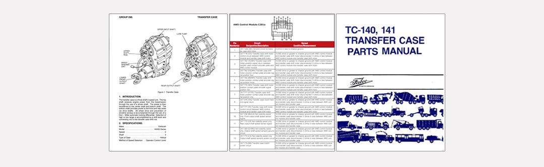 transfer case manuals